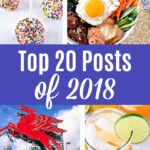 Collage of Images from top 20 Posts of 2018.