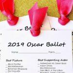 Free Printable 2019 Oscar Ballot