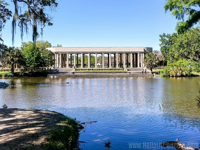 The Peristyle in New Orlean' City Park.