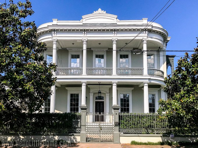 A beautiful home in the New Orleans Garden District.