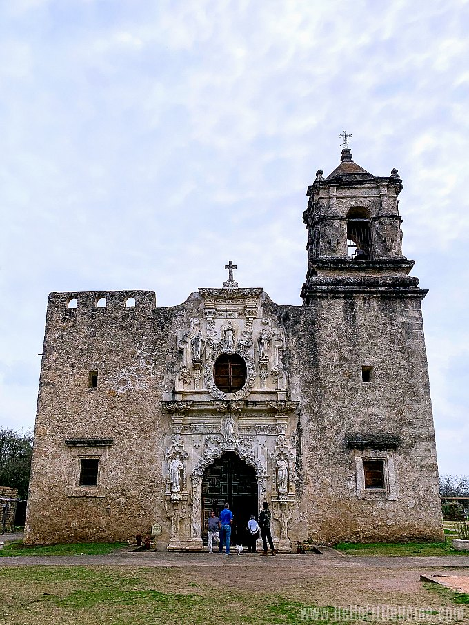 Mission San Jose, part of the San Antonio Missions National Historical Park.