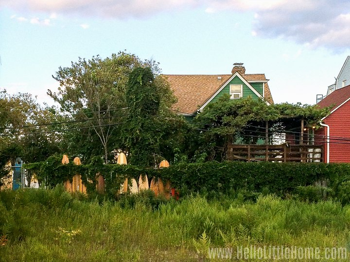 A house in the Rockaways.
