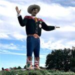 Big Tex in Fair Park in Dallas.