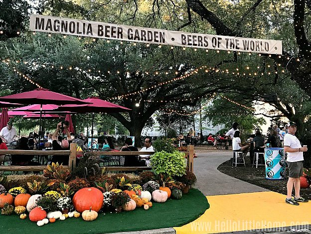 The Magnolia Beer Garden at the State Fair of Texas.