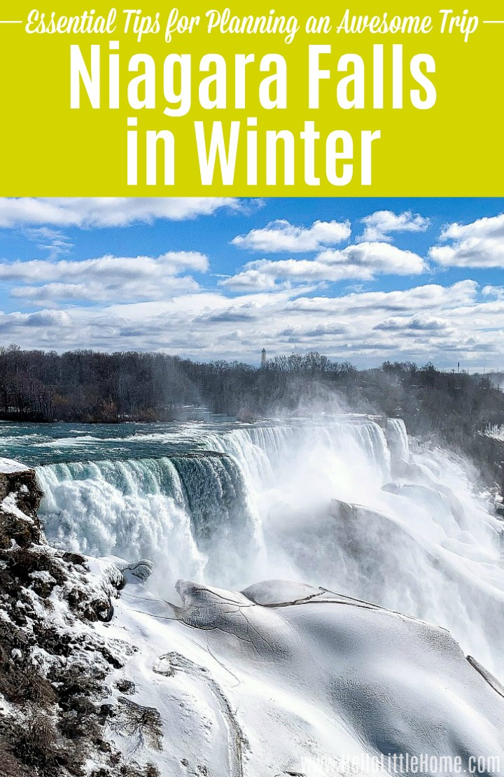 Winter in Niagara Falls ... Essential Tips for Planning an Amazing Trip