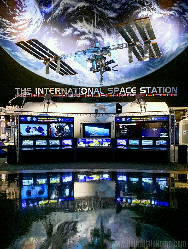 The International Space Station exhibit at NASA's Johnson Space Center.